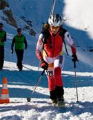 Luisa Romerales en pleno Campeonato MAB.- Foto: Org. Trofeo Villa de Benasque