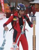 Kilian Jornet continúa demostrando su excelente estado de forma.- Foto: V. Zapater/No Limit
