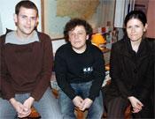 De izquierda a derecha: David Espinal, Joan Haro y Laura Samsó.<br>Foto: desnivelpress.com
