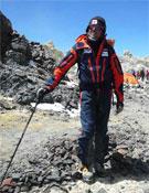 Llegando al Campo III a 6.000 metros.- Foto: Col. Desafío Extremo