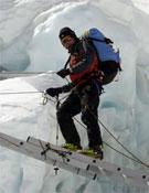 Calleja en el Lhotse.- Foto: jesuscalleja.es