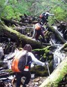 Los durísimos trekkings obligaron a retirarse a un buen número de equipos. Foto: Patagonia Expedition Race