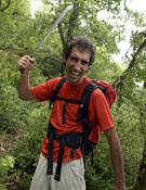 Simón Elías en la Sierra de Cantabria (Álava).- Foto: Darío Rodríguez
