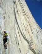 Barmasse, por fin, logra su ansiada ascensión por la Noroeste del Cerro Piergiorgio.- Foto: Herve Barmasse