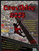 Cartel de la II edición del Crevibloc.- Foto: Cortesía de la Organización