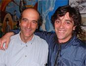 Veintinueve años de refugieros en Gredos: Miguel Ángel Vidal y Oscar Morales.- Foto: Ángel Pablo Corral