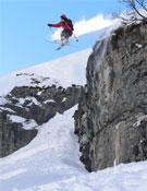 Riera, un hombre hecho para saltar, para volar.- Foto: Col. David Riera