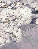 Nieve cuarteada por un alud en Picos de Europa.- Foto: desnivelpress.com