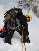 Durante la ascensión al Pico Casteldefells.- Foto: Vicente Holgado