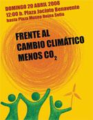 Cartel de la manifestación convocada por Mountain Wilderness.- Foto: Mountain Wilderness