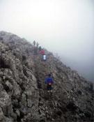 El mal tiempo dominó toda la prueba.- Foto: Jordi Marimon y Ester Terricabres