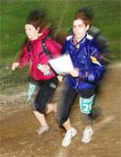 Sección de carrera a pie del Triraid celebrado en Lérida.- Foto: Xavi Llongeras