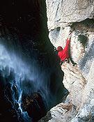 Garganta de piedra, de David Munilla, fotografía presentada al V Concurso Desnivel de Fotografía de Montaña.