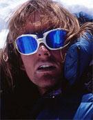 Iñaki Ochoa en la cima del Lhotse, cuya cima alcanzaba en abril de 1999.- Foto: navarra8000.com