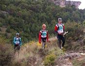 Sección de trekking de ayer.- Foto: Org. Bimbache Extrem