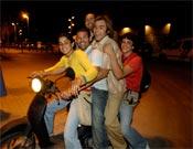 Daila Ojeda, Miguel Riera, Chris Sharma y Gerarld Rull en todo su esplendor.- Foto: desnivelpress.com