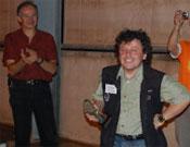 Joan Lluís Haro obtuvo una mención especial a su dedicación a esta actividad.- Foto: Cortesía de la Organización