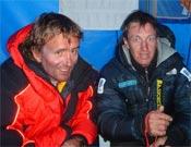 Iñaki Ochoa y Denis Urubko.<br>Foto: Col. Iñaki Ochoa / desnivelpress.com