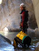 Pablo Solares, autor de la guía 40 barrancos de Asturias.<br>Foto: Col. Pablo Solares