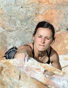 Isabel Boavida, primer 8a+ femenino en Portugal.- Foto: Col. Isabel Boavida