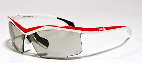 c5f1d294d2 Gafas Spirit PH, montura blanca-roja.- Foto: Eassun
