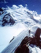 El Mont Blanc, visto desde la Aiguille du Midi.- Foto: desnivelpress.com