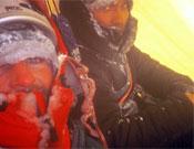 Mike Turner y Stu McAleese en su