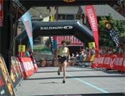Stephanie Jiménez llegando segunda a la meta.- Foto: Ocisport