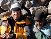 Juan Diego Amador en Bolivia.- Foto: Cortesía de Juan Diego Amador