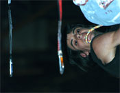 Gerard durante la prueba de Madrid de la Copa de España de Dificultad 2007.- Foto: Jorge Jiménez