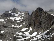 Vista del Pico Tesorero y Horcados Rojos.- Foto: desnivelpress.com