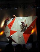 Un momento de la competición de Montauban.- Foto: Jimmy Aunet / Planetgrimpe.com