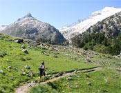 La prueba discurre por pistas y senderos transitados frecuentemente dentro  del Parque Natural Posets-Maladeta.- Foto: Nil Bohigas