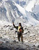 """Messner definió a Unterkircher como """"la nueva estrella del alpinismo italiano"""".<br>Foto: corriere.it"""