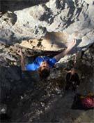 Usobiaga sobre Mendeku, 9a de Egino.<br>Foto: Irati Anda