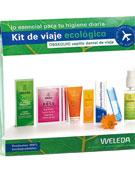 Kit de viaje ecológico Weleda.- Foto: Weleda