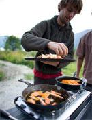 Favresse y las patatas belgas fritas.<br>Foto: Ben Ditto