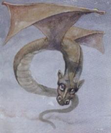 Ilustración del Cuelebre.