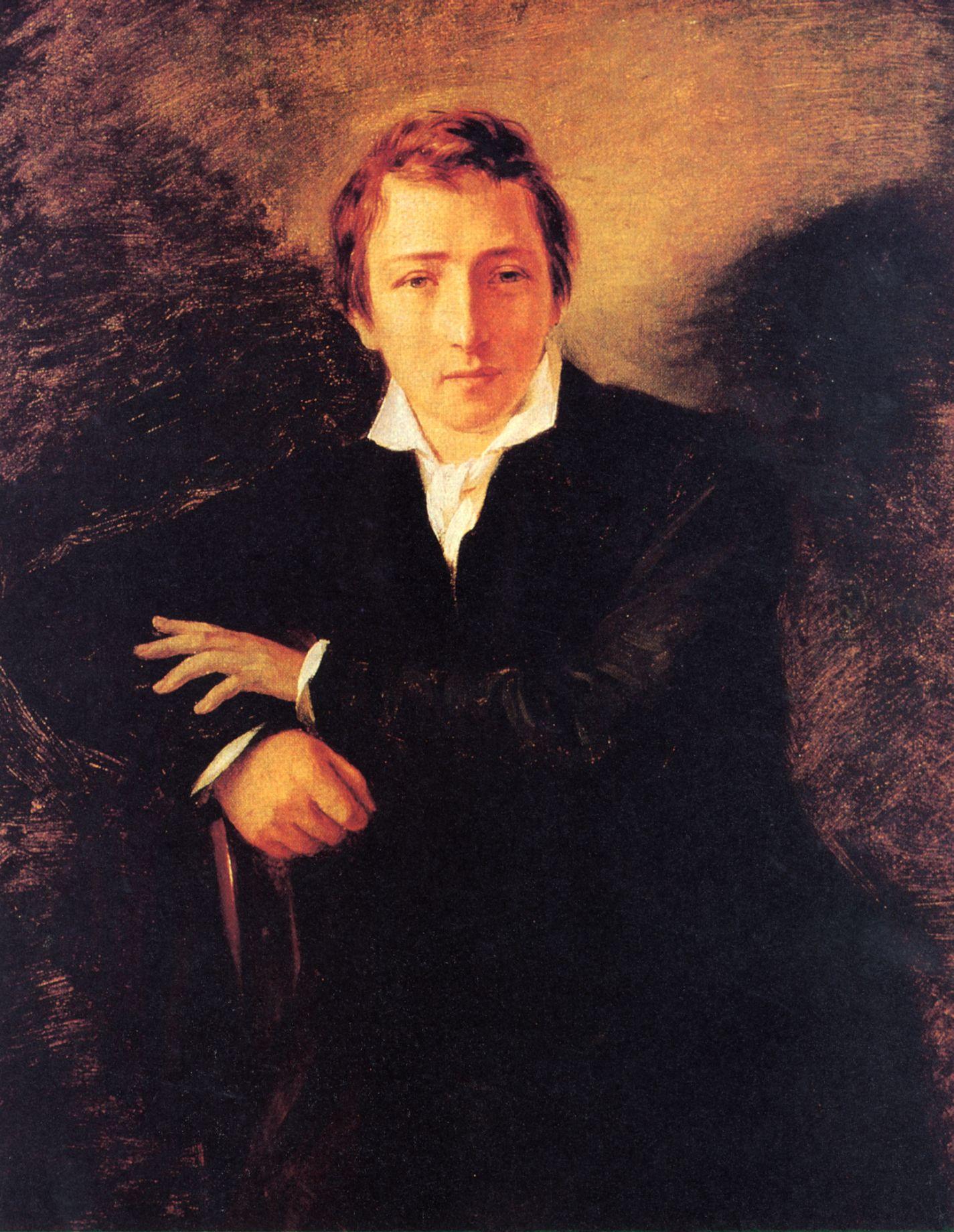 El poeta alemán Heinrich Heine, otro de los favoritos de Roberto Frassinelli.