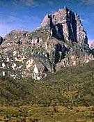 Vista de la Pirámide de Carstensz, objetivo de Carlos Soria.<br>Foto: desnivelpress.com