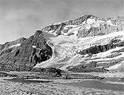 Vista de una de las caras del glaciar Monte Perdido en 1910.- Foto: Greenpeace