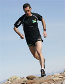 Agustí Roc durante la carrera.- Foto: Salomon