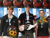 El podio masculino de Berna.- Foto: FEDME
