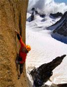 Alex Huber en la Suiza al Grand Capucin en solo integral.- Foto: Heinz Zak