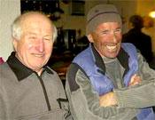 Reunión invernal GAME 2005 celebrada en Gavarnie. En la imagen: Louis Audoubert y Serge Castéran.- Foto: desnivelpress.com