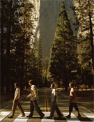 Cruce en la base de El Capitán, en Yosemite.- Foto: Dean Fidelman