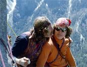 Jim Bridwell y John Long en Yosemite.- Foto: Dean Fidelman
