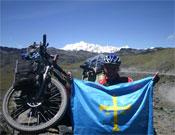 Paso de Hualla Hualla (4.871m). Punto más alto de la expedición Transamazónica.- Foto: Juan Menéndez