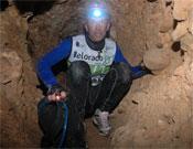 La entrada a la cueva.- Foto: Organización