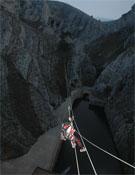 Tirolina vertical y nocturna.- Foto: Organización